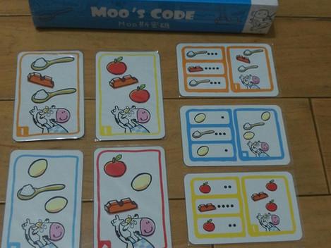 桌遊&繪本&聽力辨識《Moo斯密碼》