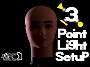 Introduction to 3 Point Light Setup