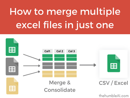 Merge multiple Excel files into one workbook