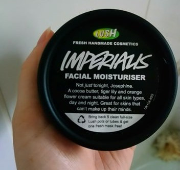 Lush Imperialis Facial Moisturiser Review