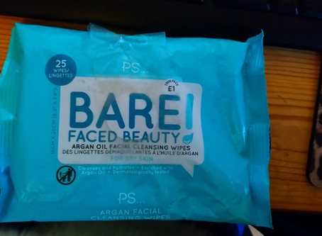 REVIEW: Primark PS Bare Faced Beauty Argan Oil Facial Cleansing Wipes