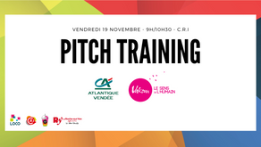 19 Novembre  - Atelier Pitch Training