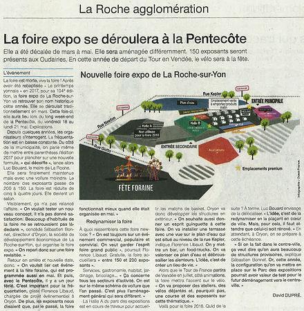 Ouest France Foire Roche