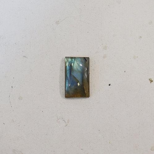 silver labradorite gem