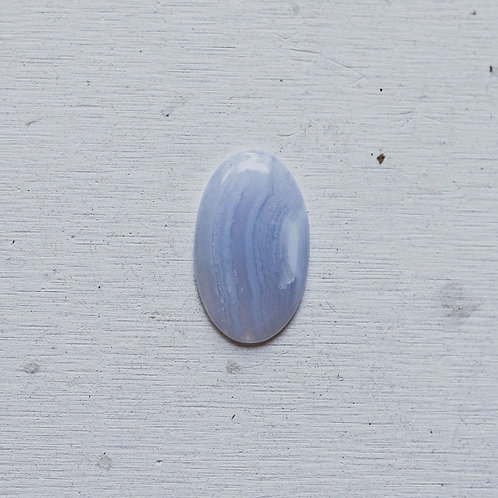 silver blue lace agate