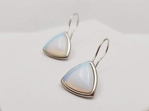 Opaline Triangle Earring