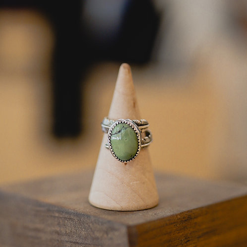 silver turquoise ring 5