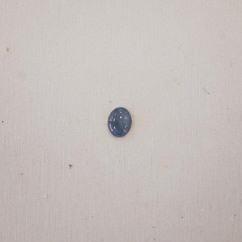 silver opal gem