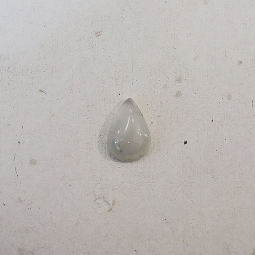 silver rainbow moonstone gem