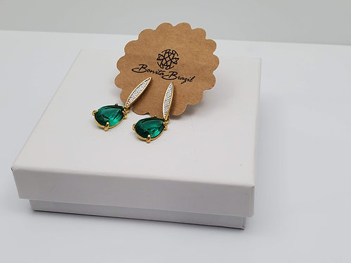 Paraiba Gemstone earring