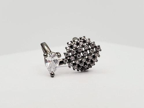 Ear Cuff Crystal earring