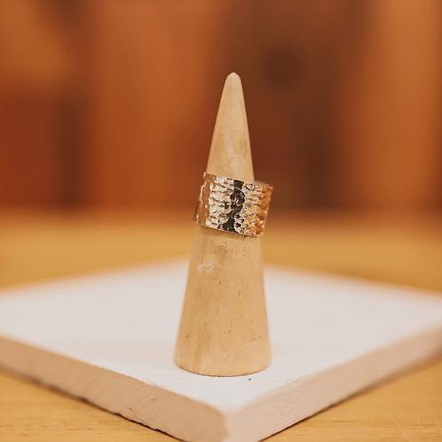 silver sheet ring //