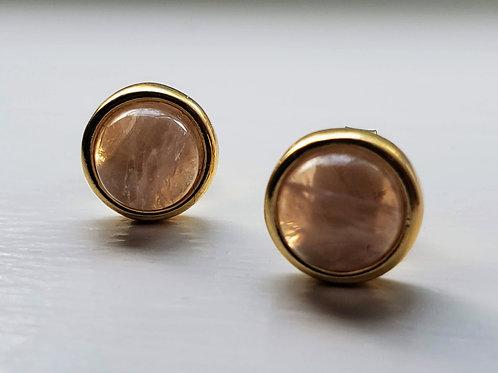 Ilhabela Rose Quartz classic Earring