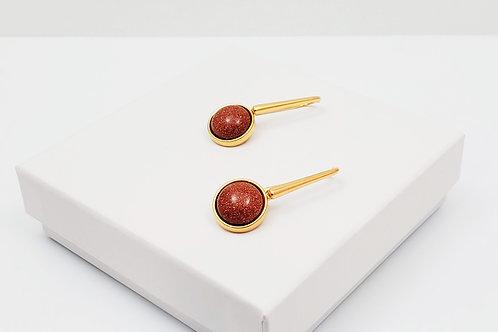 Ipanema Goldstone Earring