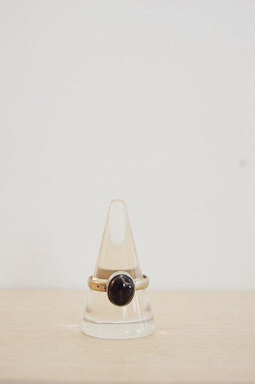 nickel // black agate // 10.5