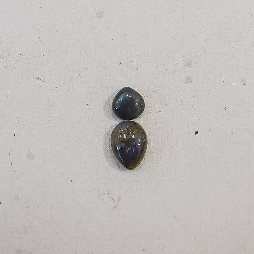 silver labradorite gems
