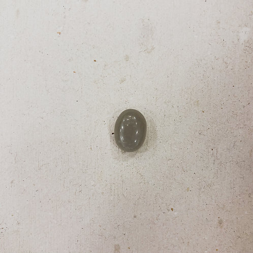 silver gray moonstone gem