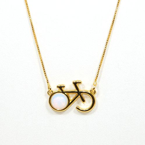 Necklace Bike Opal