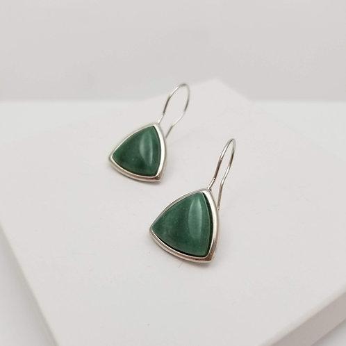 Atalaia Green Quartz earring