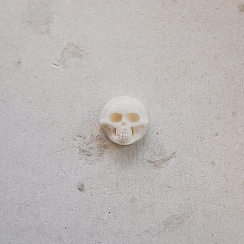 silver skull gem