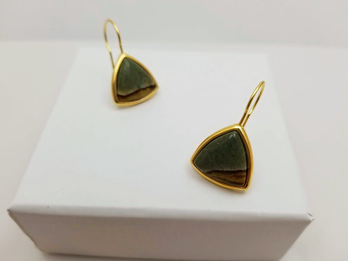 Jasper 2 hoop earrings