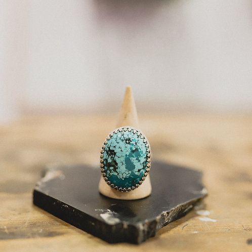 silver turquoise ring 8