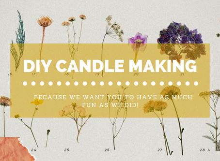 DIY Project // Candle Making