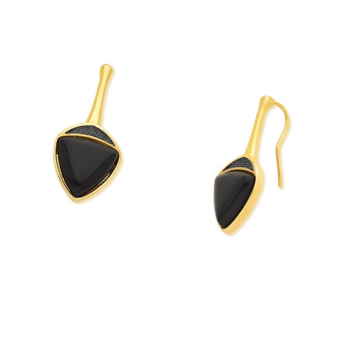 Black Agate Triangle