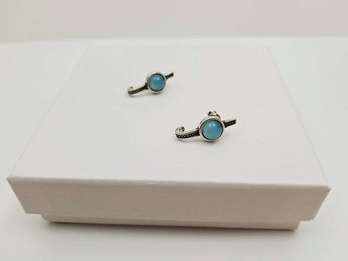 Búzios Blue Sky Boho Earrings