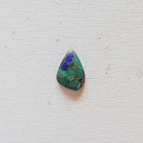 silver green mojave turquoise ring
