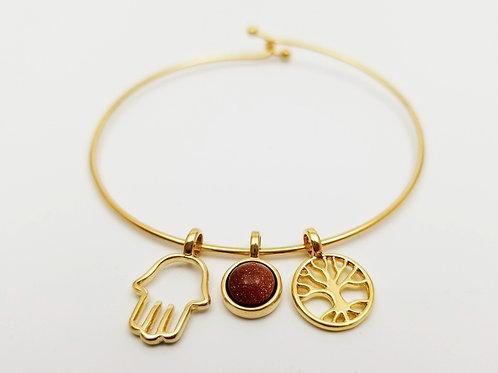 Goldstone Life bracelet