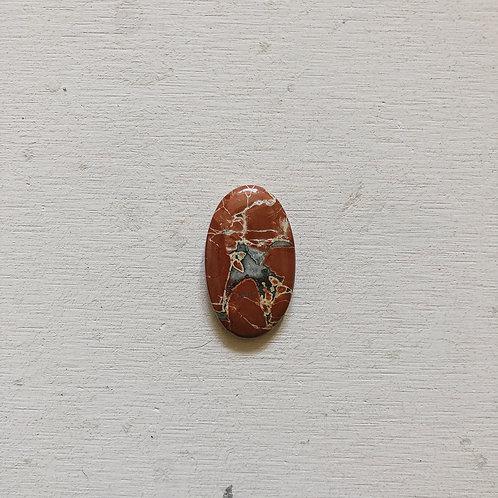 silver jasper gem