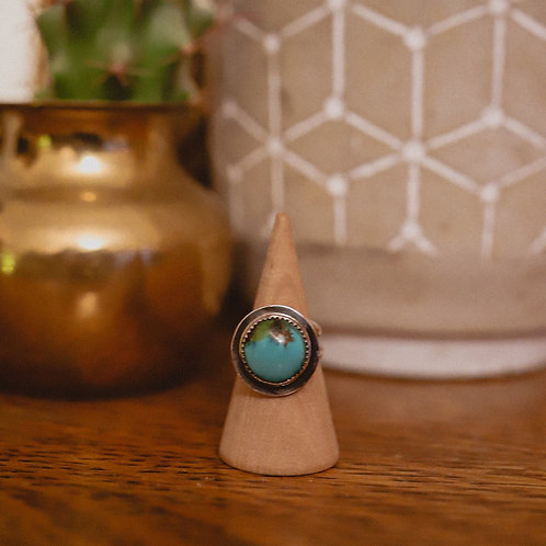 silver turquoise ring 6