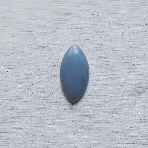 silver angelite ring