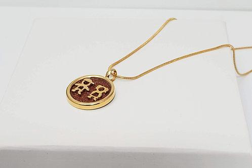 Ipanema Goldstone necklace