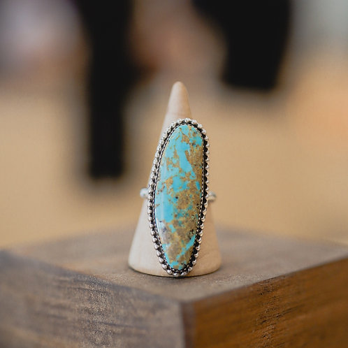 silver turquoise ring 7