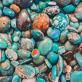 beautiful turquoise stones
