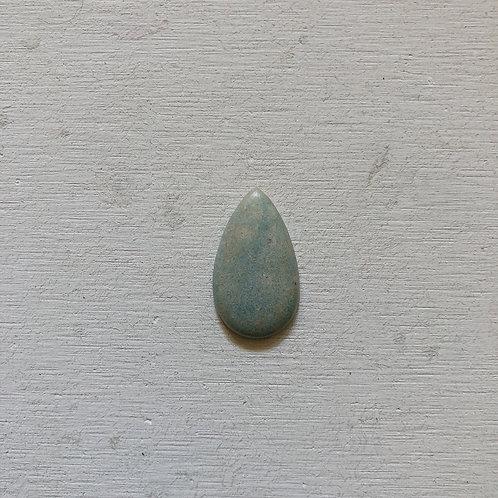 silver blue quartz gem