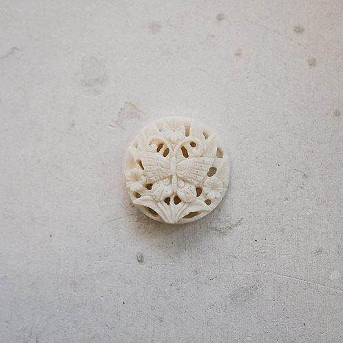 silver butterfly gem