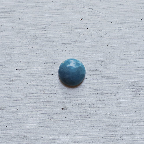 silver blue quartz ring