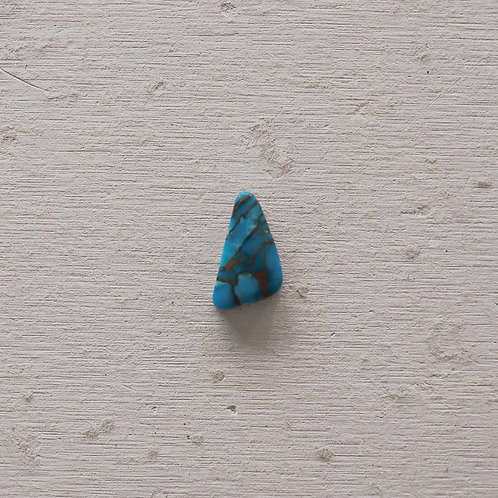 silver turquoise mojave ring
