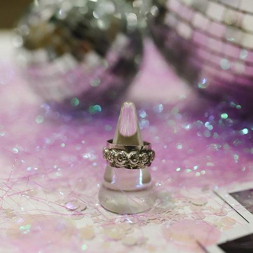 silver sheet ring 9.75