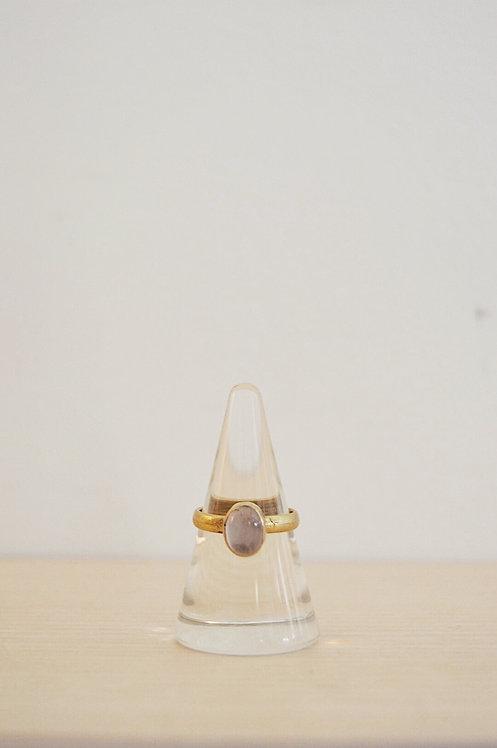 brass // rose quartz