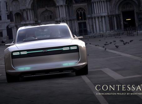 Audacious Beautiful Concept Design of Hindustan Motors Contessa EV !