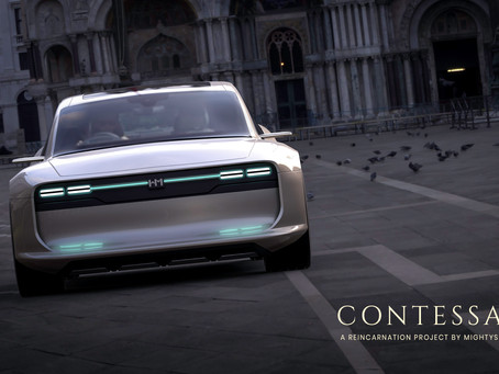 Audacious Beautiful Concept Design of Hindustan Motors Contessa EV !