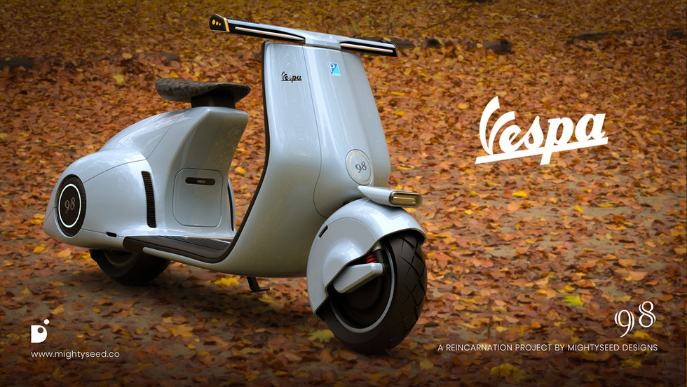 Vespa 98 by mightyseed