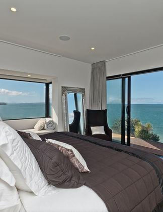 Master bedroom wth dream view
