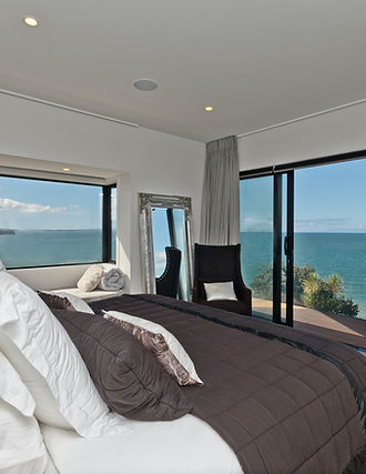 Master bedroom wth dream view