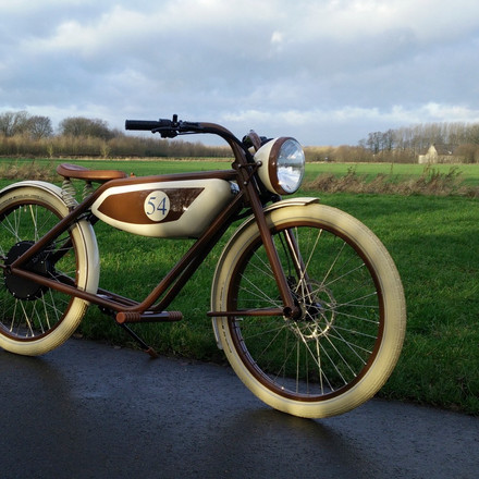 Squire Motocycles - By Dave Harris