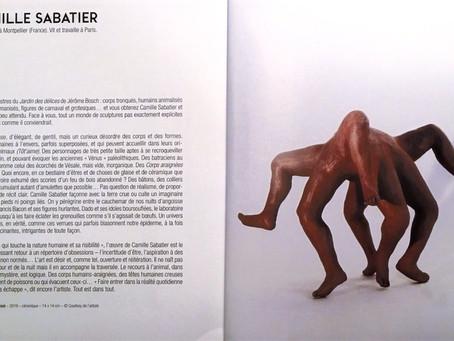 Par Paul Ardenne, texte sur mes sculptures et Humanimalismes réouvre le 19 mai